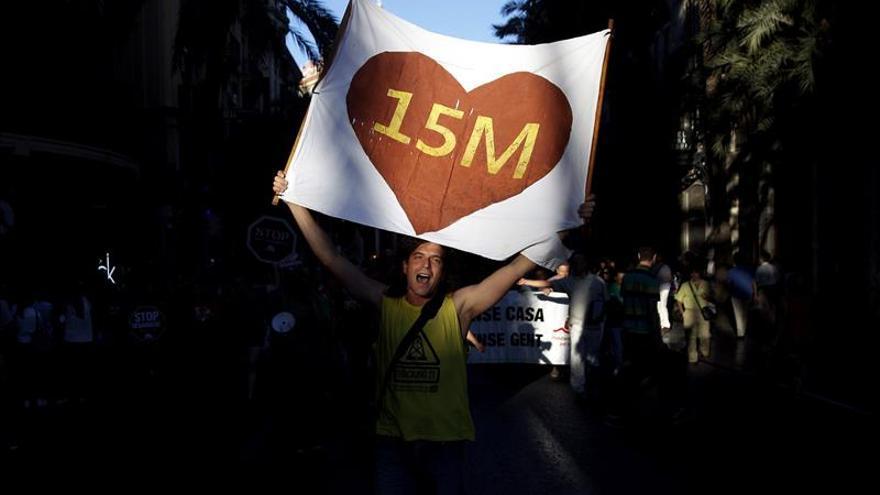 Condenan a cinco personas por las protestas del 15-M de 2011 en Valencia