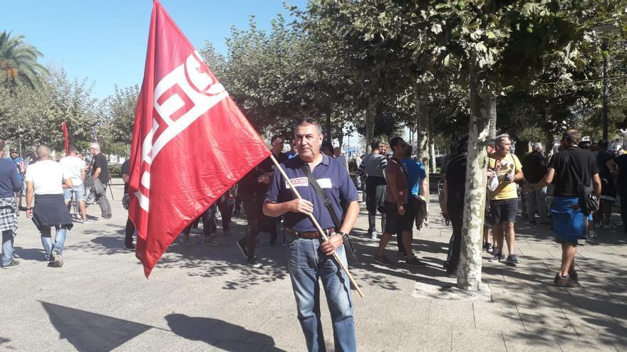 Alberto, sindicalista de Santurtzi