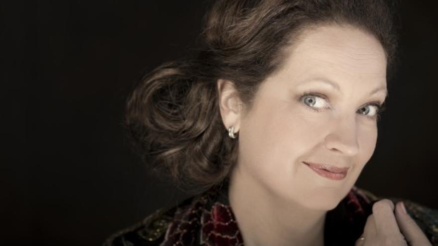 La mezzosoprano Hallenberg /Foto: Orjan Jakobsson
