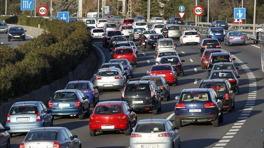 Tráfico y atascos en las carreteras españolas