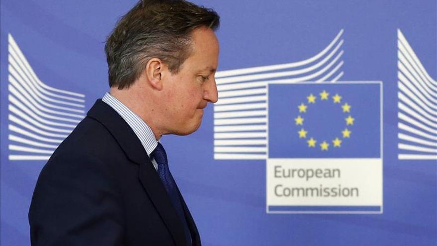 """Cameron califica de """"verdadero progreso"""" el borrador sobre las reformas de la UE"""