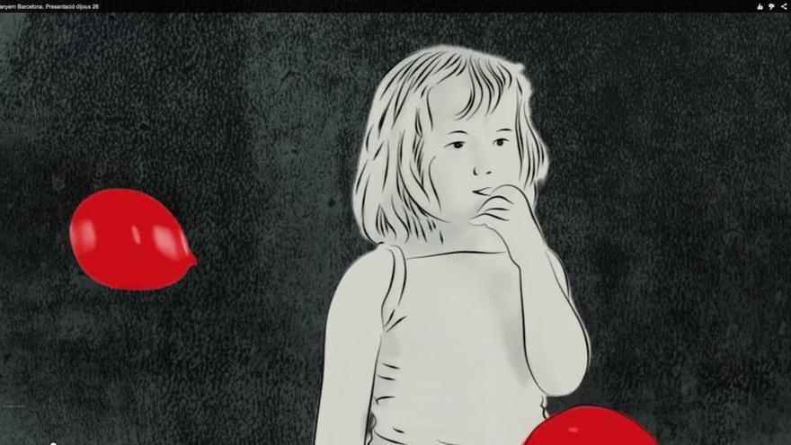 Fotograma del video de presentación de Guanyem BCN