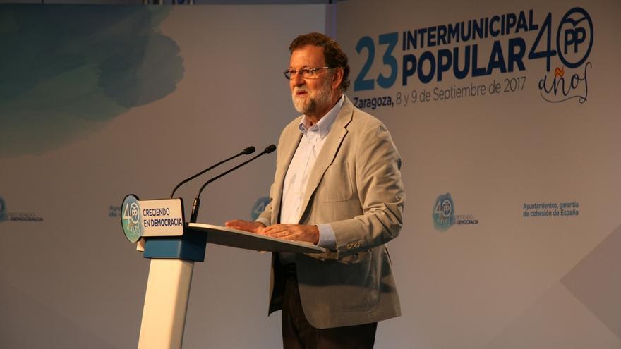 """Rajoy aboga por una Diada """"de libertad, convivencia y respeto para todos los catalanes"""""""