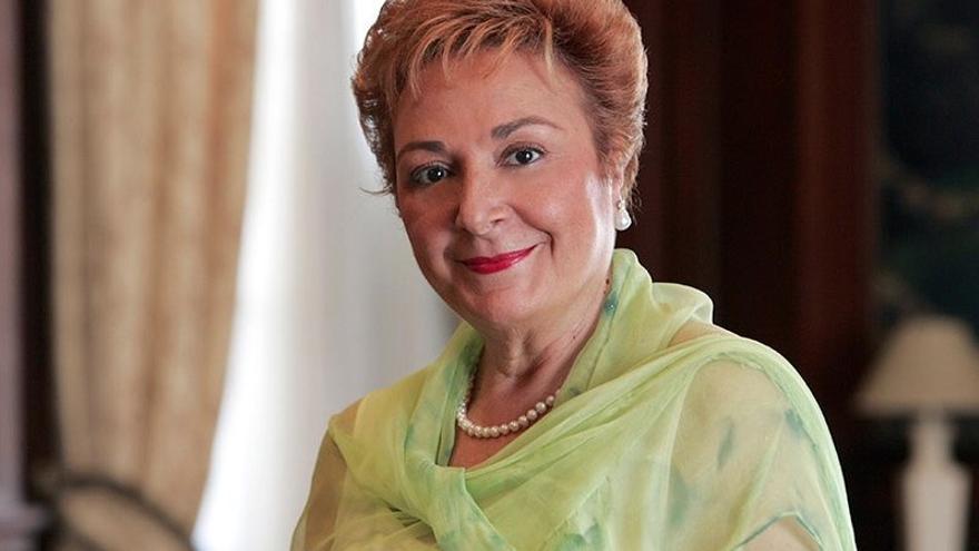 La soprano María Orán.