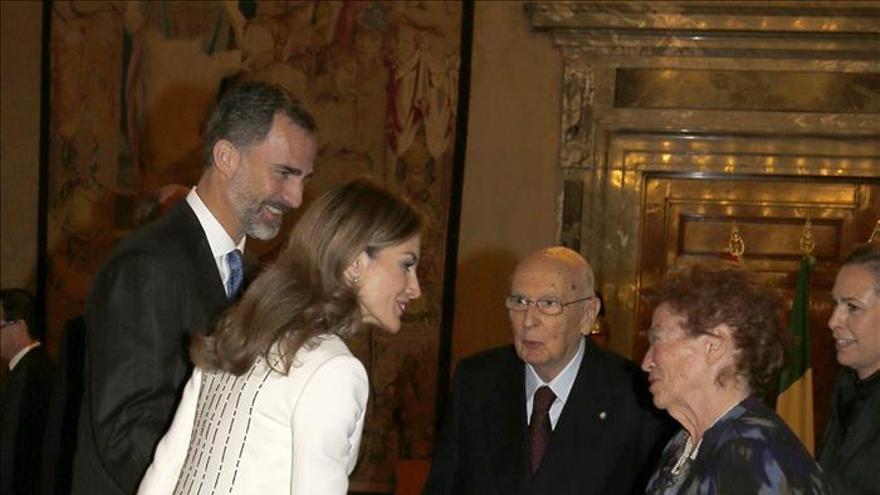 Felipe VI cumple cinco meses de reinado en su primer viaje oficial a Italia