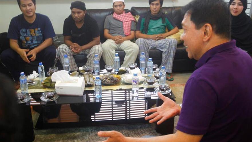 Tres indonesios secuestrados por Abu Sayyaf en el este de Malasia