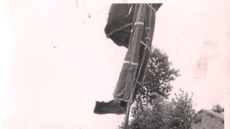 Procesión en Las Rozas de Valdearroyo, Cantabria. Sin fecha conocida. MARIO CORRAL