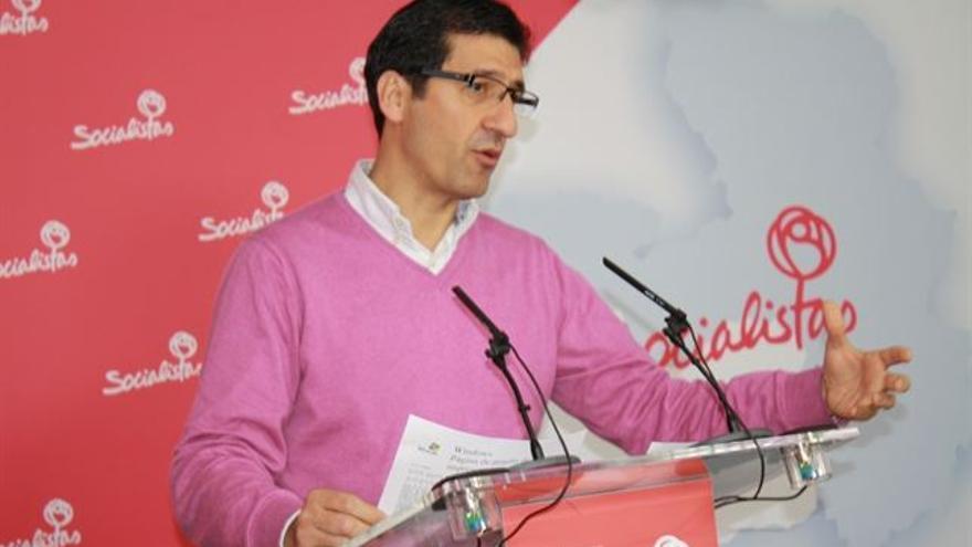 José Manuel Caballero, portavoz del grupo del PSOE en las Cortes de Castilla-La Mancha
