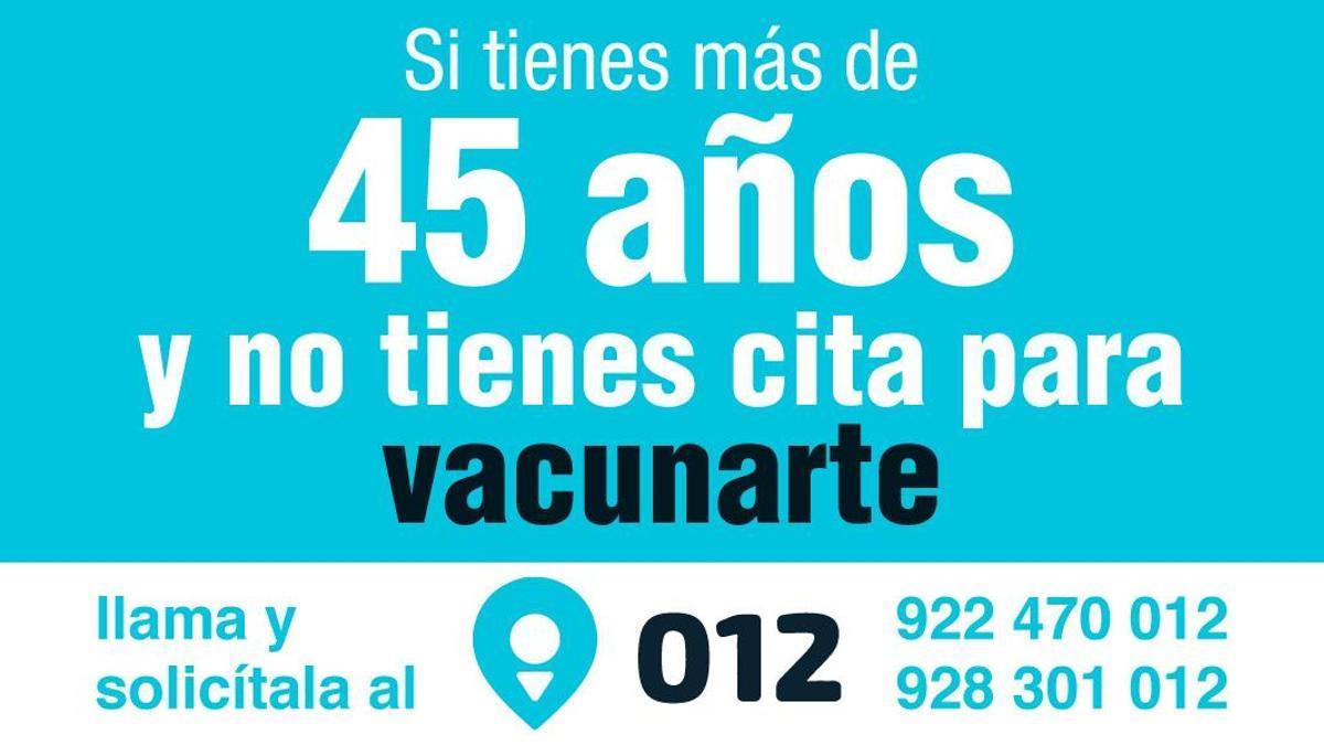 Vacunación en mayores de 45 años