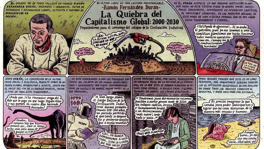 Ilustración del libro Memorias de la Tierra, del dibujante Miguel Brieva