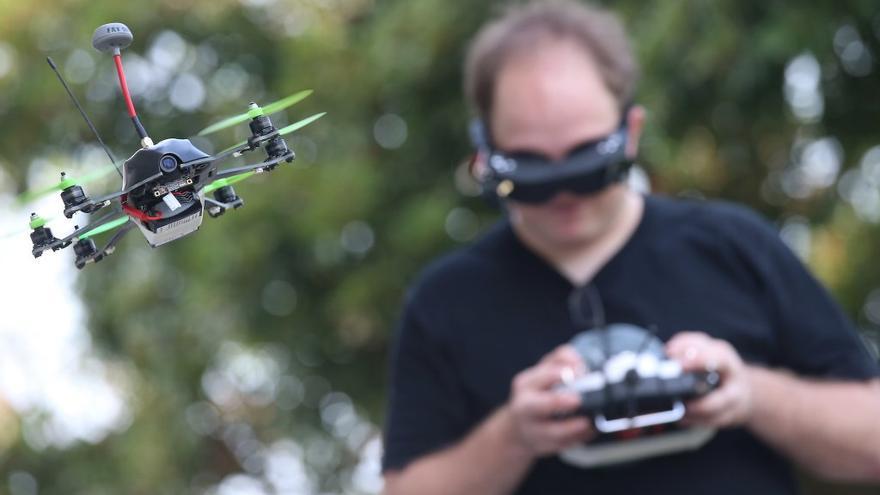 Carreras de drones en Andalucía