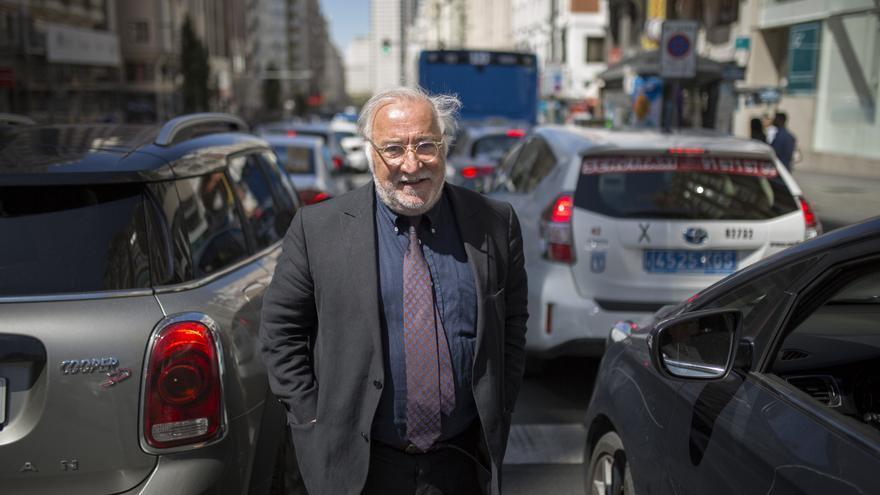 El director general de Tráfico, Pere Navarro, durante una entrevista con eldiario.es