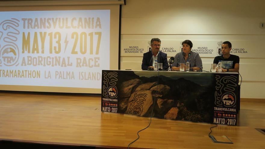 Al acto de presentación asistieron la consejera de Deportes y Juventud del Cabildo de La Palma, Ascensión Rodríguez; el consejero de Cultura y Patrimonio Histórico, Primitivo Jerónimo; y el actual campeón de las Skyrunner World Series en la modalidad UltraSky, Cristofer Clemente.