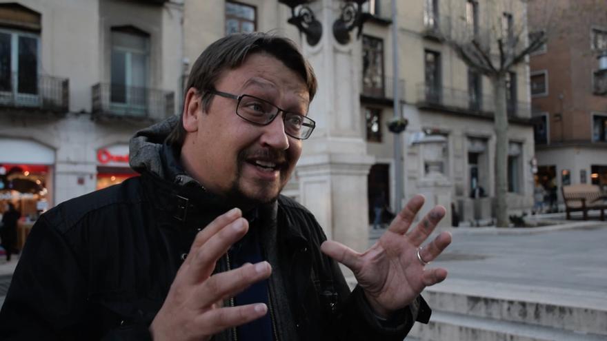 Xavier Domènech en Figueres