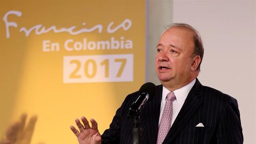 Villegas asegura que la visita del papa fue crucial para el alto el fuego del ELN