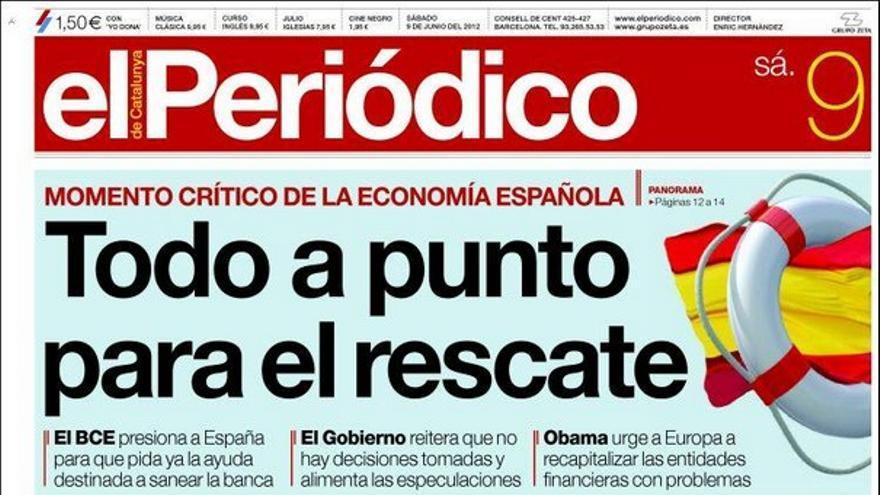 De las portadas del día (09/06/2012) #8