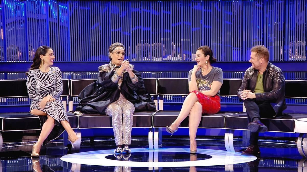Ruth Lorenzo, Josie, Ana Milán y El Monaguillo en 'Veo cómo cantas'