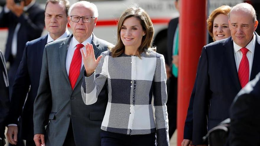La reina Letizia, admirada por la respuesta de México ante trágicos sismos