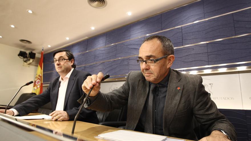 Izquierda Plural insta a evitar que el PP vete en solitario comparecencias de Rajoy en el Congreso