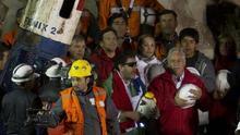 Piñera conmemora los ocho años del accidente de los 33 mineros de Atacama