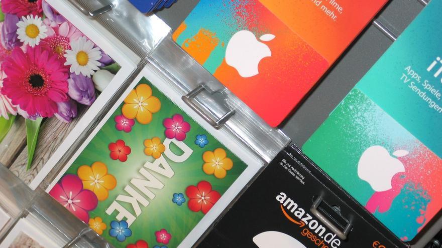 La numeración de las tarjetas regalo suele responder a un cierto patrón