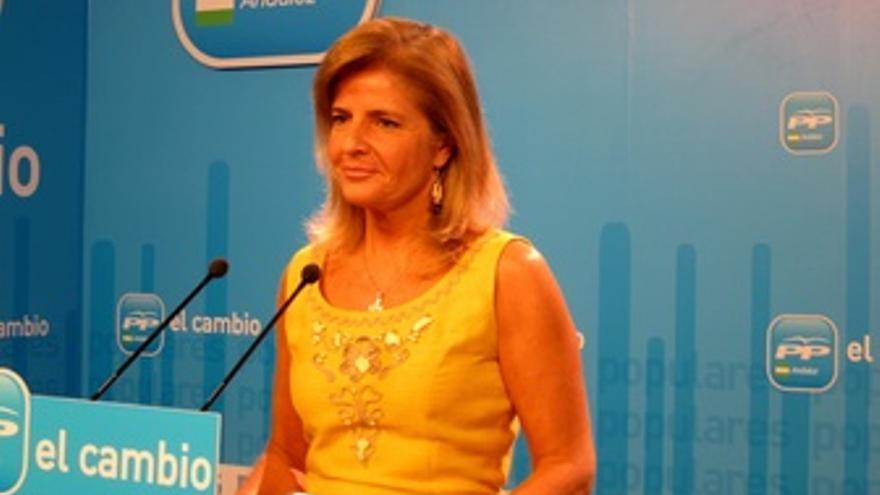 La Portavoz Del PP-A En El Parlamento De Andalucía, Esperanza Oña