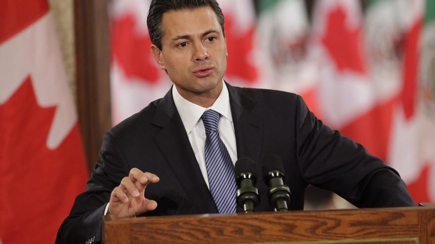 Enrique Peña Nieto asume la Presidencia de México