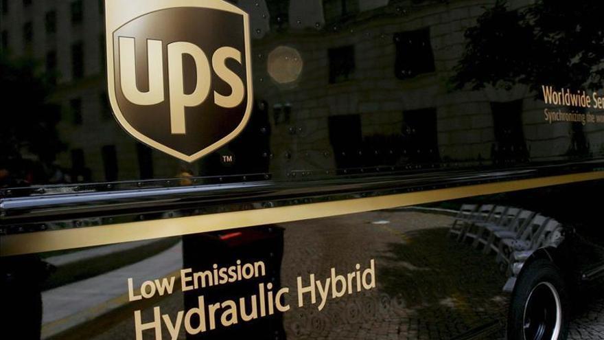 UPS cerró 2012 con un beneficio de 807 millones de dólares, el 78,8 por ciento menos