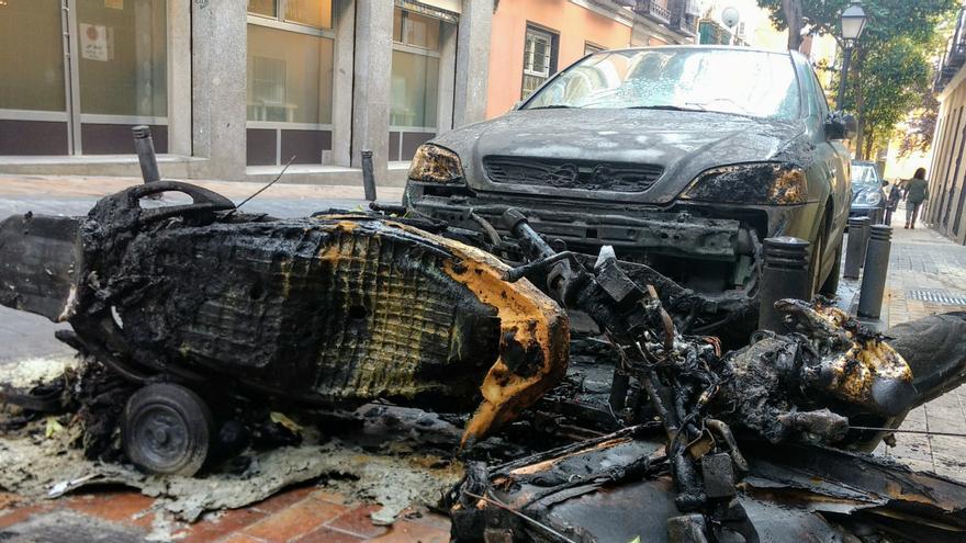 Resultados del incendio en la calle Minas   SOMOS MALASAÑA