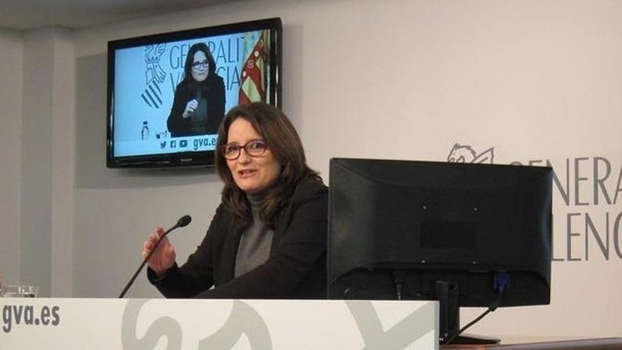 """Oltra sobre la ruptura del pacto en Barcelona: """"Aquí no es posible porque nos hemos blindado frente a avatares externos"""""""