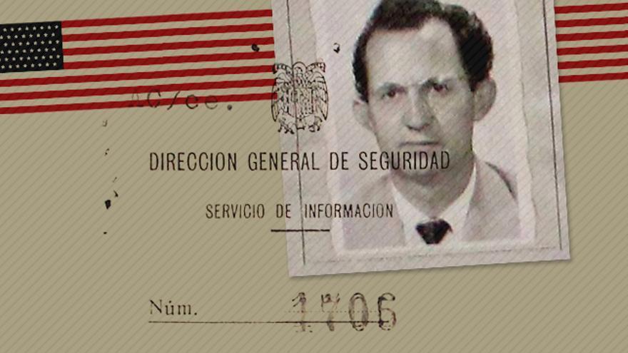 El policía de la Brigada Político Social Roberto Conesa.