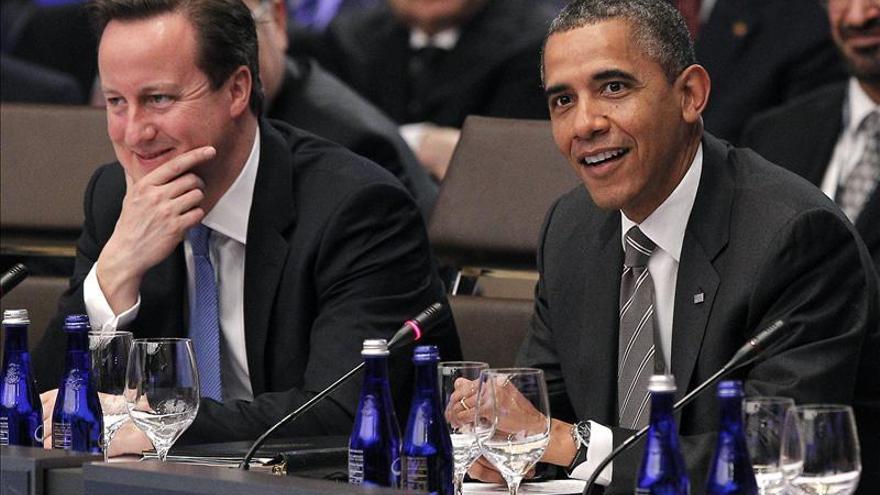 Obama recibirá a David Cameron en la Casa Blanca el próximo 13 de mayo