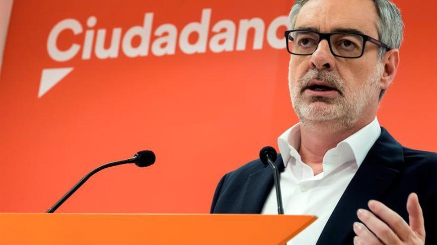 Villegas dice que Cs apoyará presupuestos si Rajoy deja de apoyar a corruptos
