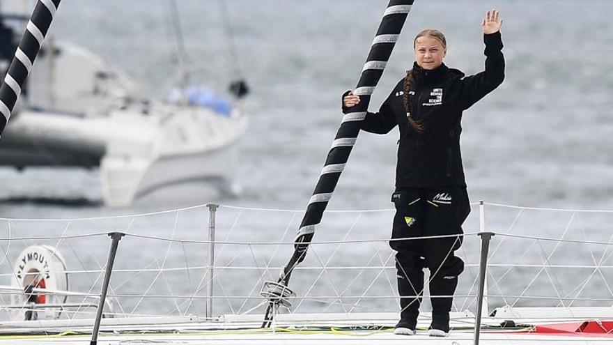 """La ONU dará la bienvenida a la activista Greta Thunberg con una """"flotilla"""""""