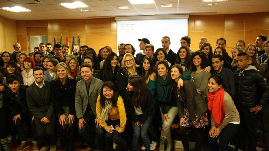 La UJA recibe a los más de 200 nuevos estudiantes extranjeros que se incorporan en el segundo semestre