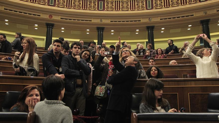 Congreso y Senado abren mañana sus puertas, en vísperas del 37 cumpleaños de la Constitución