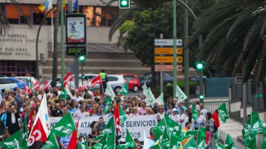 De la protesta de empleados públicos #7
