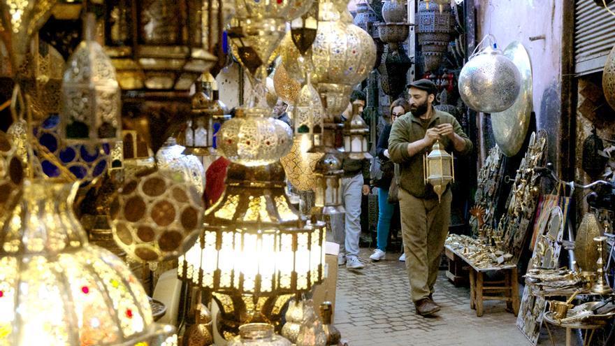 Todo Marrakech es un gran zoco en el que se puede encontrar magníficas artesanías de calidad y buen gusto