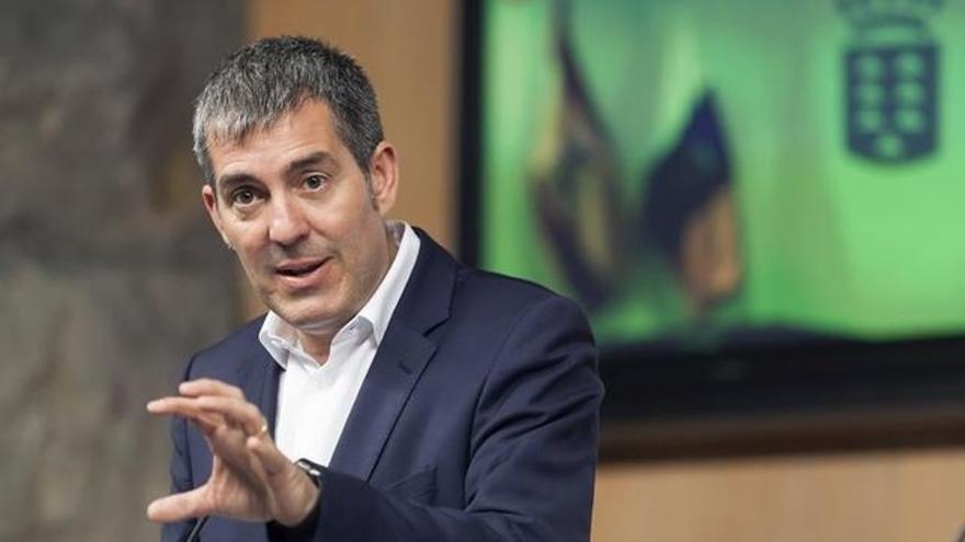 Fernando Clavijo, presidente del Gobierno de Canarias, de CC