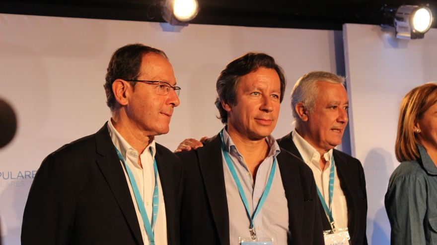 El alcalde de Murcia, Miguel Ángel Cámara, junto a Floriano y Arenas / PSS