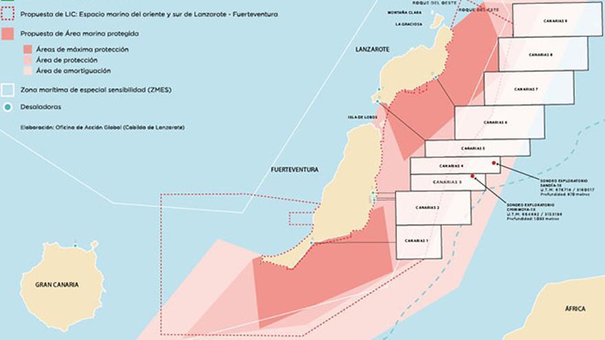 El encuentro iba a abordar la ampliación del Lugar de Interés Comunitario (LIC) de las aguas de Lanzarote y Fuerteventura.