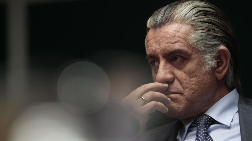 Pedro Casablanc, caracterizado como Luis Bárcenas en la película 'B' / Foto: Avalon.