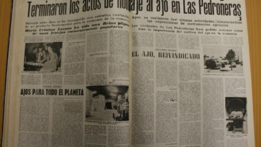 I Feria Internacional del Ajo en Las Pedroñeras