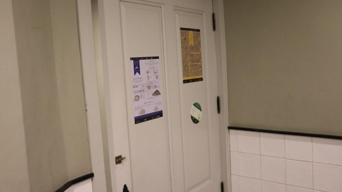 Uno de los baños que participan en la iniciativa.