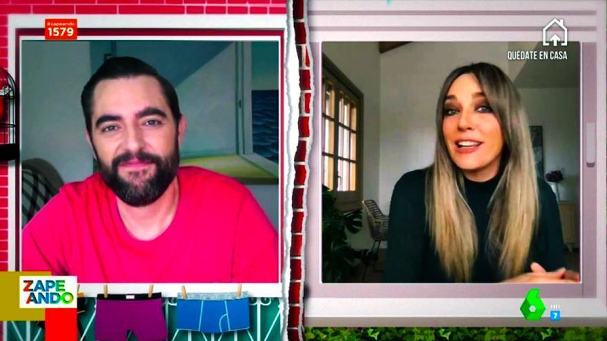 Dani Mateo y Anna Simon en 'Zapeando'