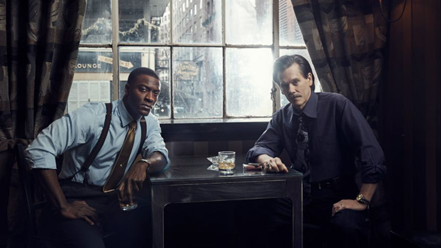 Aldis Hodge y Kevin Bacon protagonizan 'City on a Hill'.