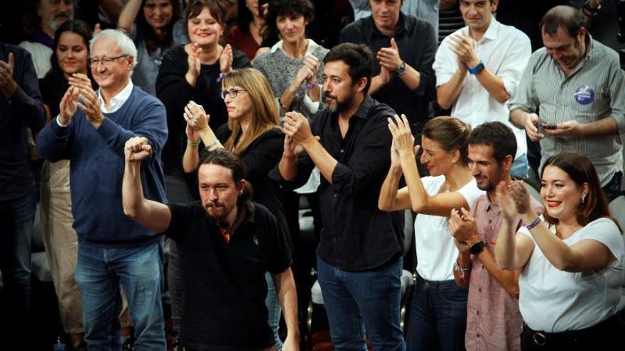 """Iglesias afronta """"tranquilo"""" un debate en el que prevé """"tensión"""" con Sánchez"""