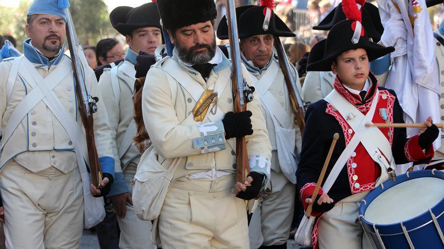 Tropas españolas se sumaron a la defensa de El Bosque. | JUAN MIGUEL BAQUERO
