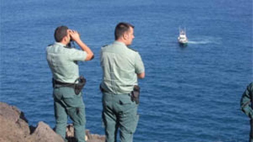 Agentes que participan en el dispositivo de búsqueda. (ACFI PRESS)