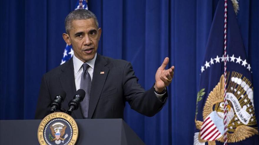 """Obama defiende a los musulmanes """"patriotas"""" y reclama unidad ante el terrorismo"""